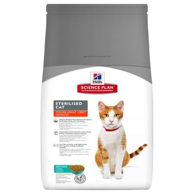 Hill's Young Adult Sterilized Cat Atun
