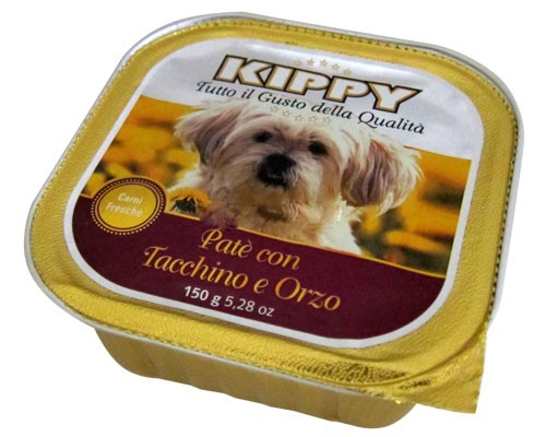 Kippy Dog Pate Pavo y Cereal