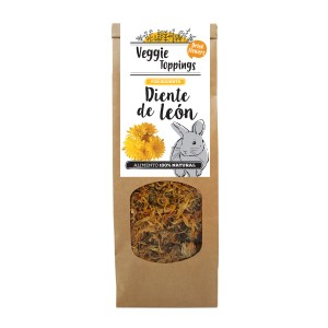 Complemento alimenticio para roedores Veggie Toppings Diente Leon