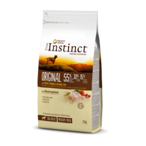 True Instinct Pollo y Arroz Integral Adult Medium/Maxi