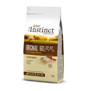 True Instinct Pollo y Arroz Integral Adulto Mini