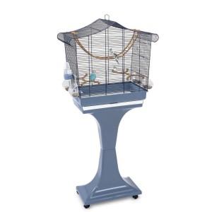 Jaula Pájaros SOFIA, Azul oscuro-Azul