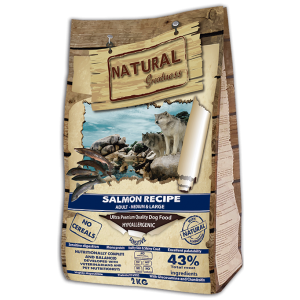 Receta de Salmón - Sensitive - Medium&Large - NATURAL GREATNESS