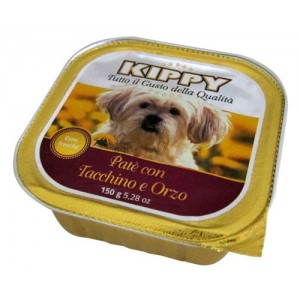 Kippy Dog Pate Pavo Cebada