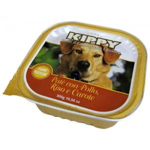 Kippy Dog Pate Pollo y Arroz Zanahoria