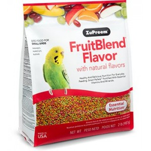 Zupreem FruitBlend Flavor Multifruta Periquitos y Agapornis - Aves Pequeñas