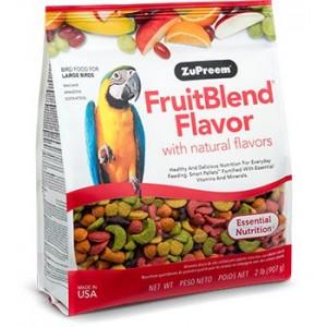 Zuprem FruitBlend Flavor PIenso para Loros - Aves grandes
