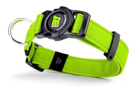 Memopet Collar para perro Nylon Verde