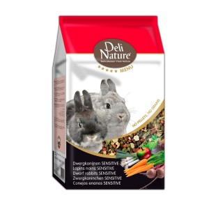 Mixtura para Conejos Enanos SENSITIVE, Menú 5*