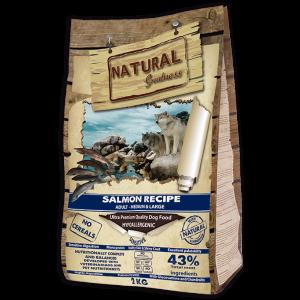 Receta de Salmón - Sensitive - Medium&Large - NATURAL GREATNESS