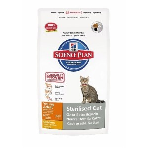 Hill's Young Adult Sterilized Cat Pollo
