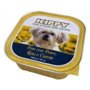 Kippy Dog Pate Pescado y Arroz Zanahoria