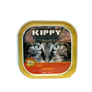 Kippy Cat Pate Buey Vegetales