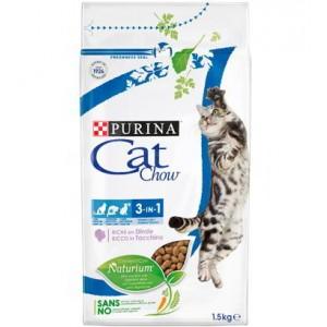 Cat Chow 3 en 1 Rico en Pavo