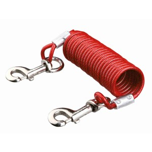 Cable Exteriores con Cable en Espiral