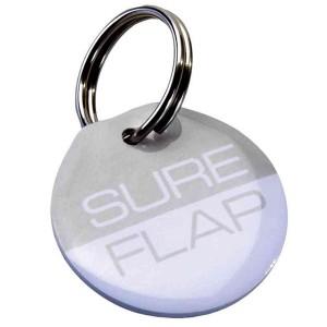 Plaquita SureFlap de Identificación por Radiofrecuencia (RFID)
