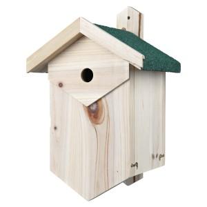 Caja nido para aves anidadoras de cavidades