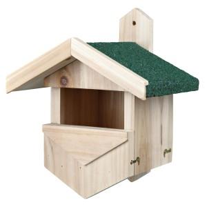 Caja nido para aves anidadoras de cavidades secundarias