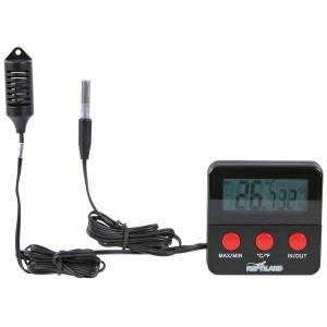 Termómetro/Higrómetro Digital con Sensor Remoto