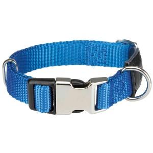 Collar Cierre Metálico New Premium Azul Cobalto