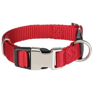 Collar Cierre Metálico New Premium Rojo