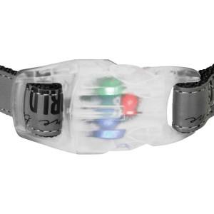 Collar Explore con Flash, M–L, 35–55 cm/20 mm, Negro-Reflectante
