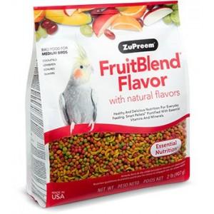 Zupreem Fruitblend Flavor Multifrutas Ninfas y Cotorras - Aves Medias