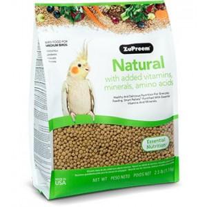 Zupreem Natural Ninfas - Aves Medias